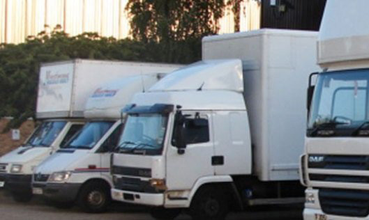Maxtrans fleet of trucks